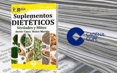 El 'GuíaBurros: Suplementos dietéticos' en el portal web de COPE